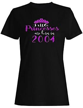 Nacen pequeñas princesas en 2004 camiseta de las mujeres c200f