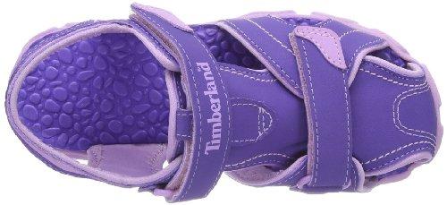 Timberland SPLSHTWNCLSDTOESND Unisex-Kinder Sport- & Outdoor Sandalen Lila (Purple)