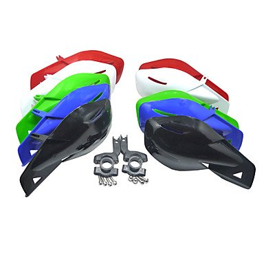 LISABOBO @ 22mm Kunststoff-Universalhandschutz Protecotor für Roller Motorrad Dirt Bike 50-150cc , black