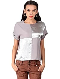 Remanika Light Purple color Knitted Top for womens