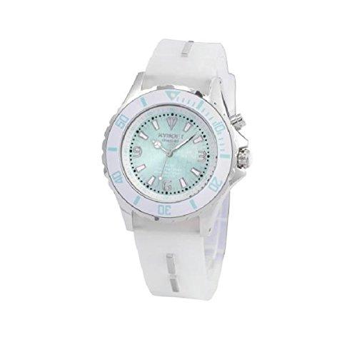 KYBOE! Reloj automático Unisex Blanco 48 mm