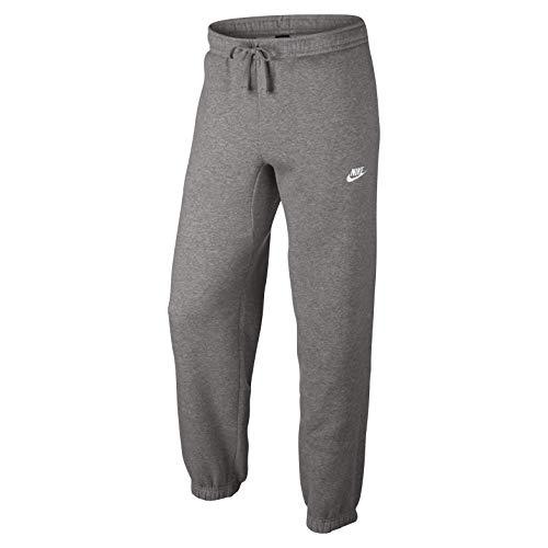 Nike 804406 - pantaloni lunghi da uomo per allenamento, grigio scuro/bianco, m
