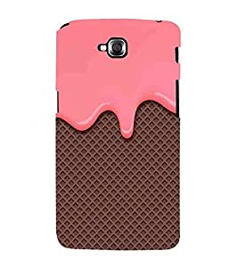 For LG G Pro Lite :: LG Pro Lite D680 D682TR :: LG G Pro Lite Dual :: LG Pro Lite Dual D686 pink cream fluid on chocklate ( pink cream fluid on chocklate, cream fluid, chocklate ) Printed Designer Back Case Cover By FashionCops