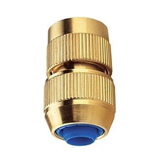 Aquajet 330 Automatischer Schlauchverbinder mit 6 Kugeln, Gold, 12/15 Zoll