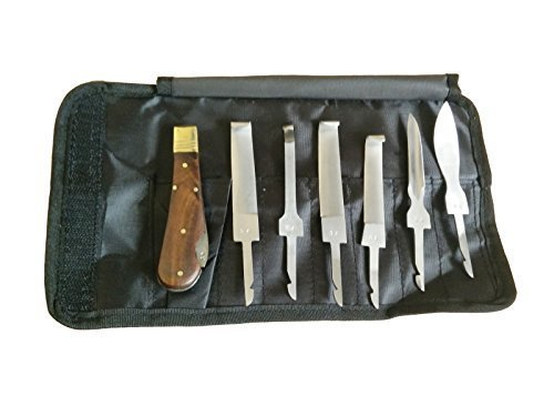 Chirurgische Instrumente-spezialisten-hufschmied Huf-Messer Kit Satz Premium Qualität Set Messer +...