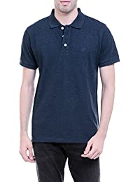 Chkokko Polo Tshirts, Mixed Cotton, Regular Fit, Available In Various Colors. Black, White, Dark Blue, Dark Grey.
