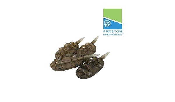 Preston ICS IN-LINE DURA Flat Method FEEDERS Futterkorb XL von 30g bis 60g erh/ältlich 45g // 1,5 oz