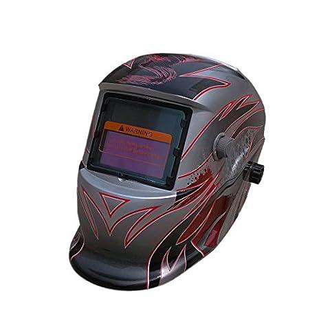 Valianto Solar Auto Darkening Welding Helmet Welder Mask Flower Of Freedom HW-ZYHSL