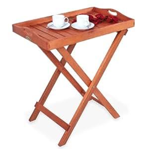 table d 39 appoint plateau en bois 67 x 73 x 42 cm cuisine maison. Black Bedroom Furniture Sets. Home Design Ideas