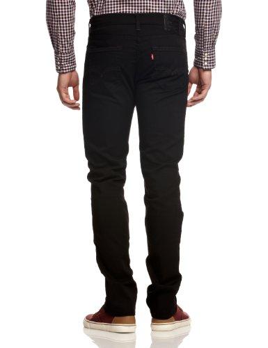 Levi's Herren 511 Slim Fit Jeans Schwarz (MOONSHINE 0966)