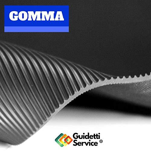 Alfombra de goma antideslizante de rayas altura 120 cm de Guidetti Service