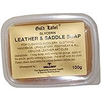 Gold Label - Jabón de glicerina para cuero y sillas de montar