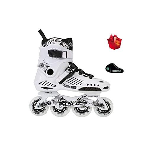 Tiua Inline Skates Skates, Innen- Und Außen Erwachsene Inline-Skates Professionelle Flache Schuhe Männer Und Frauen Im Freien Klinge Schlittschuh Hochleistungs-Renn Schlittschuh Wissen
