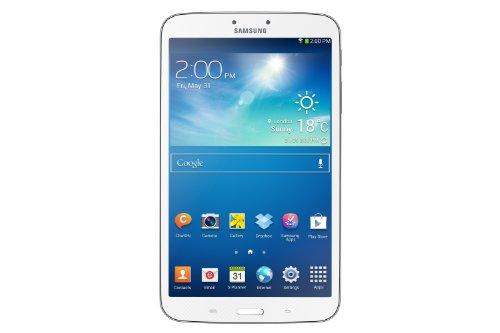 Samsung Galaxy Tab 3 20,3 cm (8 Zoll) Tablet (1,5GHz, Dual-Core, 1,5GB RAM, 16GB interner Speicher, 5 Megapixel Kamera, WiFi, Android 4.2) weiß (Samsung Galaxy Tablet 8 Zoll)