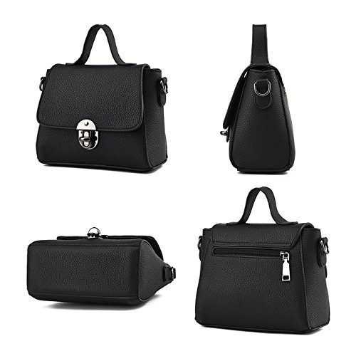 Ruiren Multifunktions Metall Schnalle Soft Tasche Portable Schultertasche Frauen Messenger Bags Frauen Handtasche Schultertasche Saphir