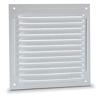 anzapack 814348l Grille Flat 30 X 30 cm. White