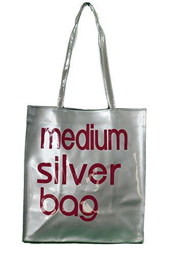 f20dcbf08bc05 Descrizione del prodotto  gfm PVC piccole o medie riutilizzabile shopper o  borsa per il pranzo. Dimensioni ridotte  si chiude con una chiusura  magnetica