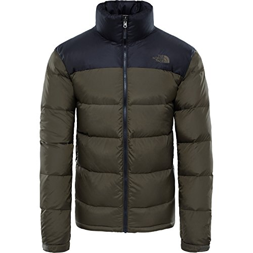 North Face Nuptse 2 Down Jacket X Small TNF Black New Taupe Green (Jacket North The Down Schwarz Face)