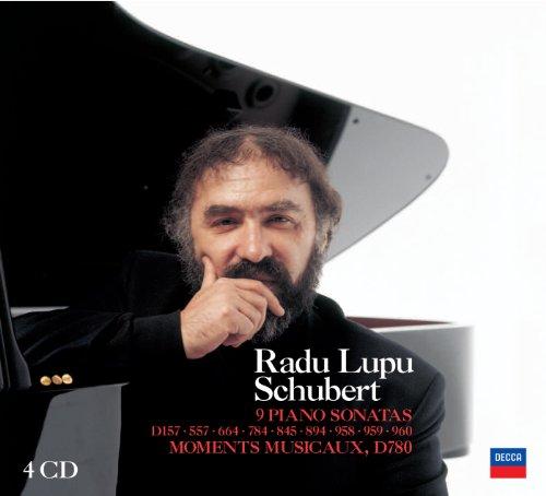 SCHUBERT - Radu Lupu - 9 Piano Sonatas