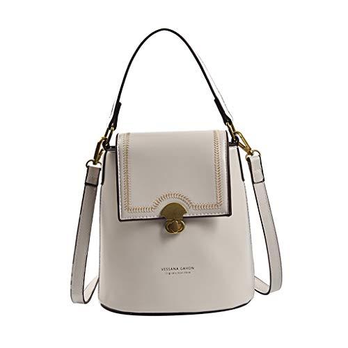 xmansky Damen Shopper Handtasche Crossbody Tasche Shell Schulter Umhängetaschen Messenger Bag,Frauen 2019 neue handtaschen einfache umhängetasche mode schulter eimer tasche -