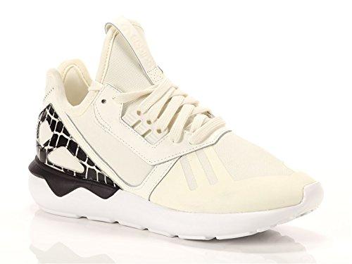 Adidas - Tubular Runner W - S81256 - Couleur: Blanc-Noir - Pointure: 40.6