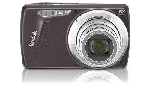 Kodak EasyShare M 580 Digitalkamera (14 Megapixel, 8-fach opt. Zoom, 7,6 cm Display, Bildstabilisator) lila