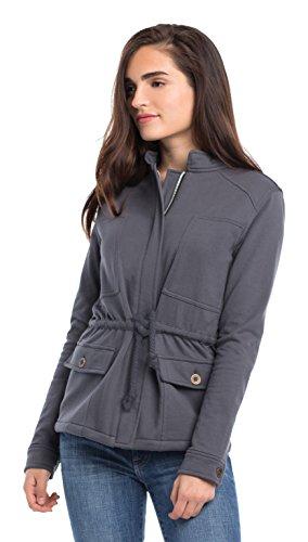 Synergy Organic Clothing Berkshire Jacke anthrazit