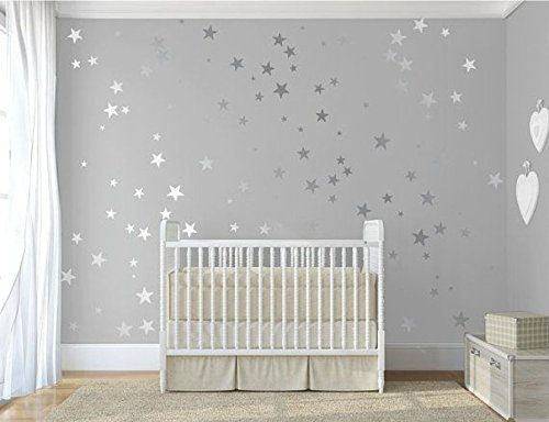 120-silver-metallic-stars-nursery-wall-stickers-nursery-vinyl-wall-decals-home-decor-wallpaper-mural