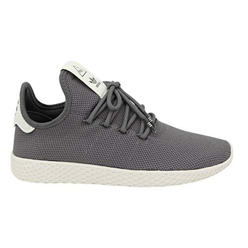 adidas Unisex Pharrell Williams Tennis Hu Sneaker Farbe: Grau; Größe: EUR 46 | US 11.5 | UK 11 (Toms Tennis-schuhe)