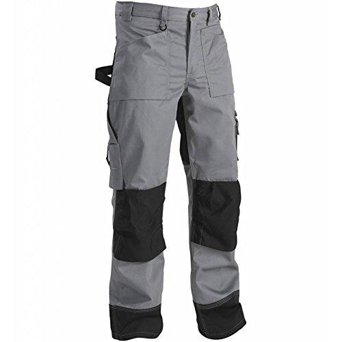 blåkläder - Pantaloni da lavoro operaio Cordura 1523, Grigio, 152318609499C46, Taglia 46