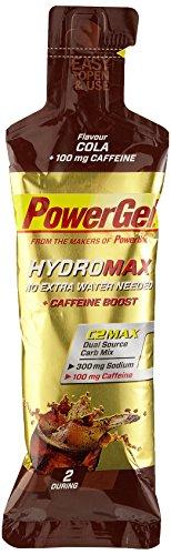 PowerBar PowerGel HydroMax Cola mit Koffein 24 Stck, 1er Pack (1 x 1,824 g) (Bar Flüssig Power)