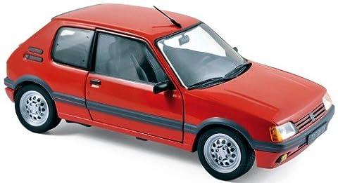 Voiture Miniature Peugeot 205 - Norev- 184853 - Peugeot 205 Gti 1.6L