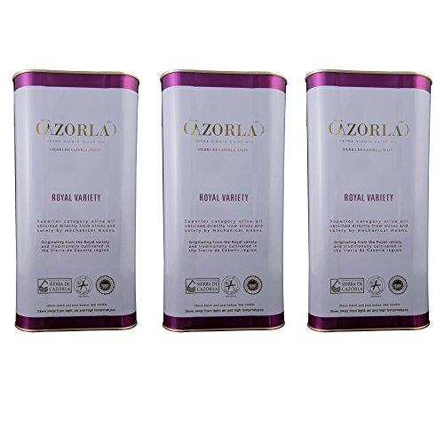 Kaltgepresstes Extra natives Olivenöl Royal Cazorla 3x5L= 15 L Säure < 0,4 % - 15 Liter Öl