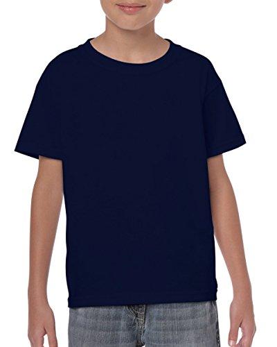 Gildan Heavy T-Shirt für Kinder Blau - Navy
