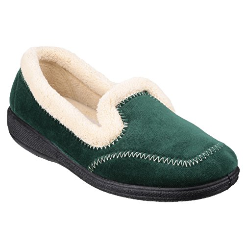 Mirak Donna MAIER Pantofole Schiuma Memory Scarpe Casa da Infilare Tessili Green