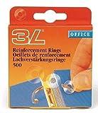 3L 8214-500agujero verstärkungs anillos de PP transparente