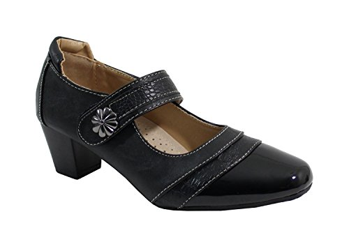 by-shoes-mary-jane-donna-nero-nero-38-eu
