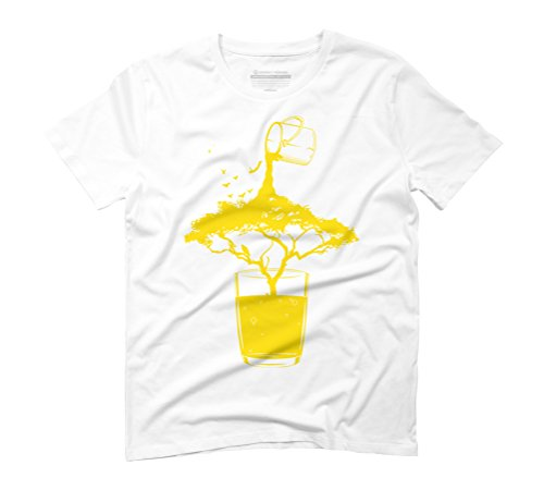 LIMITED EDITION TREE OF LIFE Men's Graphic T-Shirt - Design By Humans White