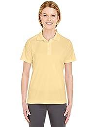UltraClub 8210L Ladies 'Cool & Dry de malla piqué Polo camiseta