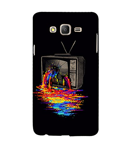 Broken Television 3D Hard Polycarbonate Designer Back Case Cover for Samsung Galaxy On7 G600FY :: Samsung Galaxy On 7 (2015)  available at amazon for Rs.389