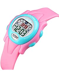 b91e03ccae25 Amazon.es  cronometro pulsera - Rosa  Relojes