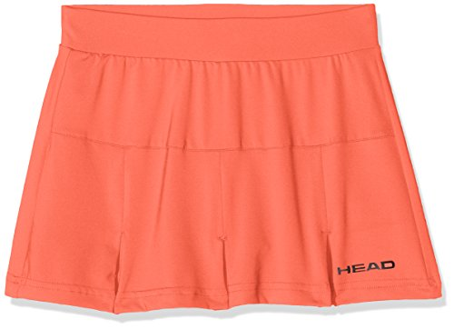 HEAD Mädchen Club Skort Girls Oberbekleidung, Koralle, 164 (Rock Tank-top Skort)