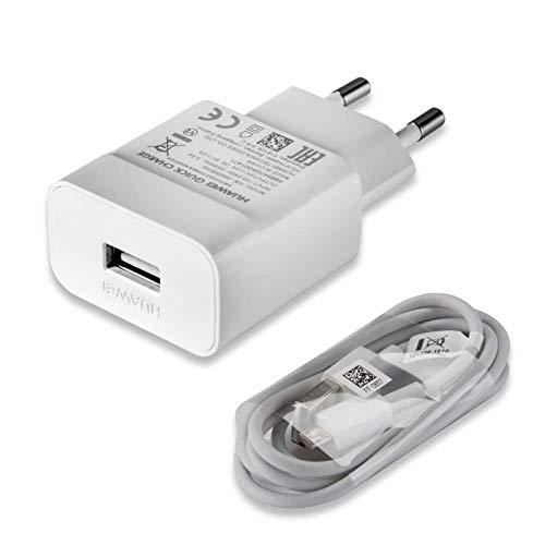 TPC - Cargador Carga Rapida Original Huawei AP32 Micro-USB para P8, P8 Lite, P9 Lite, P10 Lite, Mate 7, 8, Bulk + Regalo