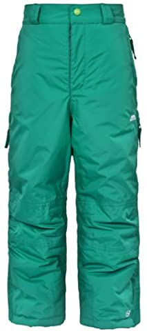 Trespass Pantalon de ski pour enfant Nando vert vert sapin 9-10 ans