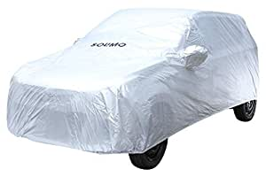 Amazon Brand - Solimo Maruti Alto K10 Water Resistant Car Cover (Silver)