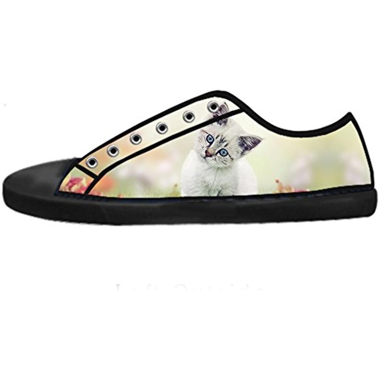 Custom Gatti di pittura Women's delle Canvas shoes I lacci delle Women's scarpe scarpe scarpe da ginnastica Blto tetto  Parent 2323dd