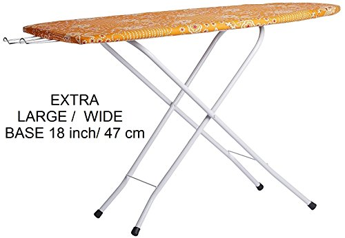 Citizen EXTRA Large / Wide 122 x 47 cm (48 x 18 inch ) Folding Ironing Board / Iron Table
