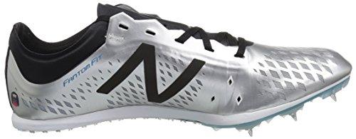 Nuovo Equilibrio Uomo Mmd800v5 Spike Scarpe Da Atletica Argento / Nero