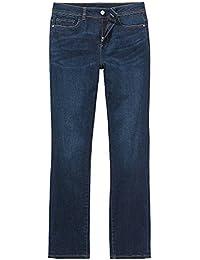 Crew Clothing Company Womens Mid Indigo Blue Straight Jeans