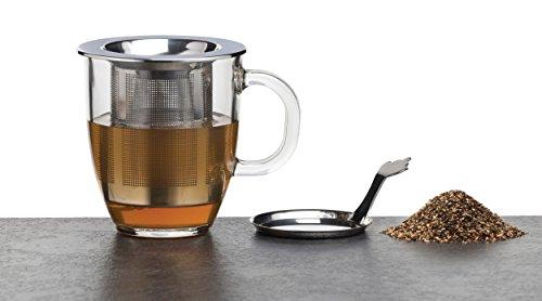 Kitchen Craft 9,5 x 8 cm aus Edelstahl 1 Tasse Le Xpress Tee-Ei, silber